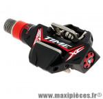 Pédale VTT auto atac xc12 ti-carbone noire 241 grammes cross country (paire) marque Time - Pièce Vélo