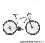 Vélo VTC sport c820 homme hunter blanc t48 alu acera 7x3 susp . marque Carratt - VTC complet