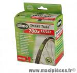 Chambre à air de route 700x19/25 vp avec liquide slime anti-crevaison - Accessoire Vélo Pas Cher