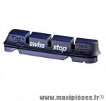 Patin route flash pro bxp bleu jte alu gomme hte perf. adaptable shimano/sram (2 pr marque SwissStop - Matériel pour Cycle