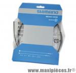 Durite de frein hydraulique avant bh 90 renforce 1000mm marque Shimano - Matériel pour Vélo