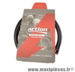 Durite de frein hydraulique noire 3000 mm avec connecteurs/olives/e m600 2.5mm x 5.3mm - Accessoire Vélo Pas Cher