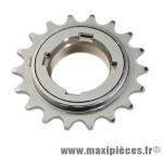 Roue libre 18 dents BMX chrome - Accessoire Vélo Pas Cher