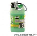Liquide préventif VTT/route anti-crevaison (bidon 3.8l) marque Slime - Pièce Vélo