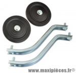 Stabilisateur roue plastique pour vélo 14/16p. (paire) - Accessoire Vélo Pas Cher