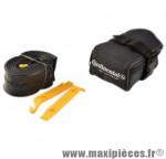 Sacoche selle + kit réparation (1 chambre a air VTT 26 vs et 2 démontes pneu) marque Continental - Accessoire Vélo