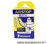 Chambre à air de VTT 27.5x1.60/2.10 vp b4 60mm marque Michelin - Pièce Vélo