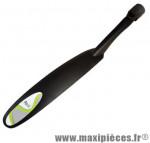 Garde boue VTT arrière 24/26 pouces fixation tige de selle par molette noir marque Atoo - Matériel pour Vélo