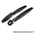 Garde boue VTT 20/24/26 pouces fixation expandeur pour avt et tige de selle pour arrière (paire) - Accessoire Vélo Pas Cher