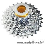 Cassette 10 vitesses adaptable campa 11-28 dents marque Miche - Pièce Vélo
