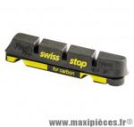 Patin route flash pro black prince jte carbone adaptable shimano et sram (2 pr) marque SwissStop - Matériel pour Cycle
