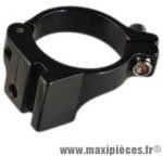 Collier der 34.9 mm alu direct mount shimano/sram noir mat - Accessoire Vélo Pas Cher