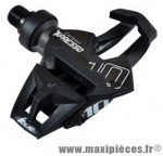 Pédale route auto x presso 10 carbone noir/rouge 190 grammes (paire) marque Time - Pièce Vélo