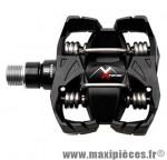 Pédale VTT auto atac mx8 noir corps carbone axe oversize 364 grammes enduro (paire) marque Time - Pièce Vélo