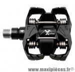 Pédale VTT auto atac mx4 noir corps composite 390 grammes enduro (paire) marque Time - Pièce Vélo