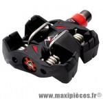 Pédale VTT auto atac mx12 noir corps carbone axe oversize titane 316 grammes enduro (paire) marque Time - Pièce Vélo