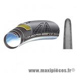 Boyau 700x22 grand prix 4000 s ii ts noir/noir (black chili/vectran breaker) marque Continental - Accessoire Vélo