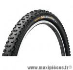 Pneu de VTT 29x2.20 ts mountain king ii performance tub ready noir 760 grammes (55-622 marque Continental - Accessoire Vélo