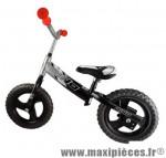 Vélo sans pédale draisienne dino bike runner noir/gris - Accessoire Vélo Pas Cher - Draisienne pour enfant