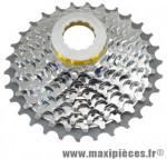 Cassette 10 vitesses adaptable campa 12-30 dents marque Miche - Pièce Vélo