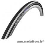 Pneu pour vélo de route 700x23 ts lugano blanc/noir protection anti-crevaison (23-622) marque Schwalbe