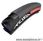 Boyau 700x23 hi composite carbone noir 260g (tpi 120) (23-622) marque Tufo - Matériel pour Vélo