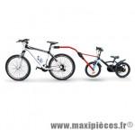 Barre de traction vélo trail angel rouge (pour 16-20 pouces) marque Peruzzo - Accessoire Vélo