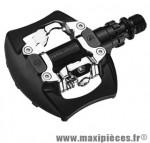 Pédale VTT auto pm811 mixte noir 334 grammes (paire) marque Exustar