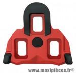 Cale pédale route type shimano spd-sl mobile 4.5° rouge anti glisse (paire) marque Exustar