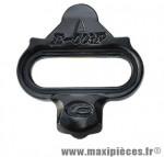 Cale pédale VTT spd noir (paire) marque Exustar
