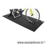 Tapis pour home trainer ebon noir 172x61x0.4 - Accessoire Vélo Pas Cher