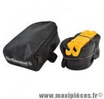 Sacoche selle + kit réparation (1 chambre a air VTT 29 vs et 2 démontes pneu marque Continental - Accessoire Vélo