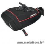 Prix spécial ! Sacoche de selle Zéfal  Iron Pack M-TF avec fixation T-Fix sur rails de selle