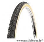 Pneu pour vélo tradi 650x35b anti-crevaison city noir/beige (26x1 1/2 - 35-584) marque Deli Tire