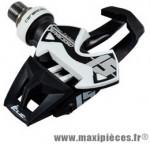 Pédale route auto x presso 15 ti-carbone noir/blanc 133 grammes (paire) marque Time - Pièce Vélo