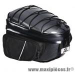 Top case/sacoche vélo bbr27 carbone fixation rapide tige de selle (32x18x22cm) marque Exustar