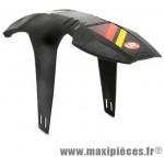 Garde boue VTT avant 26/27.5/29 pouces deflector fm20 noir fixation fourche marque Zéfal - Matériel pour Cycle