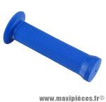 Poignée BMX grip bleu l130 mm (paire) - Accessoire Vélo Pas Cher