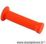 Poignée BMX grip rouge l130 mm (paire) - Accessoire Vélo Pas Cher