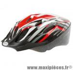 Prix spécial ! Casque vélo/VTT taille M/53-57cm Ventura Sport rouge/blanc/noir
