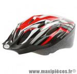Prix spécial ! Casque vélo/VTT taille L/58-61cm Ventura Sport rouge/blanc/noir