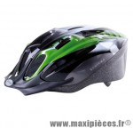 Casque vélo/VTT taille M/53-57cm Ventura Sport vert/noir *Prix spécial !