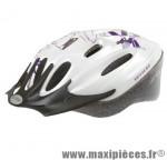 Prix spécial ! Casque vélo/VTT femme taille M/53-57cm Ventura blanc/violet