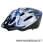 Prix spécial ! Casque vélo/VTT taille M/53-57cm Ventura bleu/gris/blanc