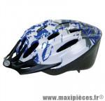 Prix spécial ! Casque vélo/VTT taille L/58-61cm Ventura bleu/gris/blanc