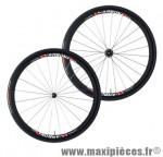 Roue route 700 (paire) carbone carbona 30mm avec boyau 1450g moyeux annulaires ed 11/10/ marque Tufo - Matériel pour Vélo