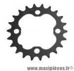 Plateau 22 dents VTT triple diamètre 64 intérieur 4 branches origine deore m590/lx 9v marque Shimano - Matériel pour Vélo