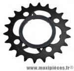 Plateau 22 dents VTT triple diamètre 64 intérieur 4 branches origine acera m430 9v marque Shimano - Matériel pour Vélo