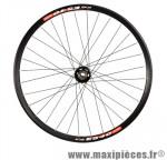 Roue VTT/dh 26 pouces avant axe 20 mm disc jante noire e540 / moy. elitis roulement double marque DT Swiss - Pièce Vélo