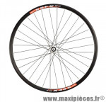 Roue VTT 26 pouces avant blocage disc jante noire x455 / moy. shim. xt 32 t. centerlock marque DT Swiss - Pièce Vélo